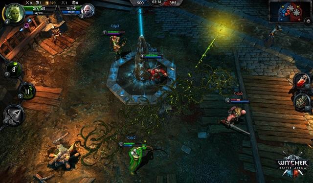 The Witcher Battle Arena выходит на Android и iOS