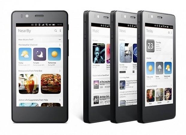 Первый в мире смартфон на Ubuntu