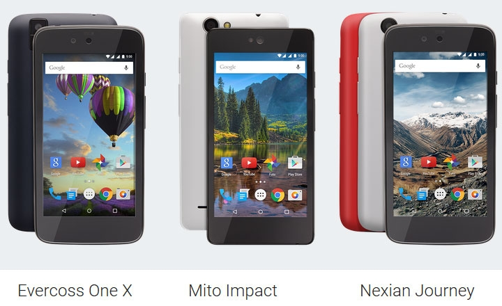 Первые смартфоны на Android 5.1
