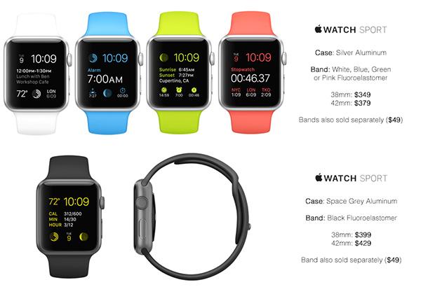 В сеть попал прайс-лист всех моделей Apple Watch