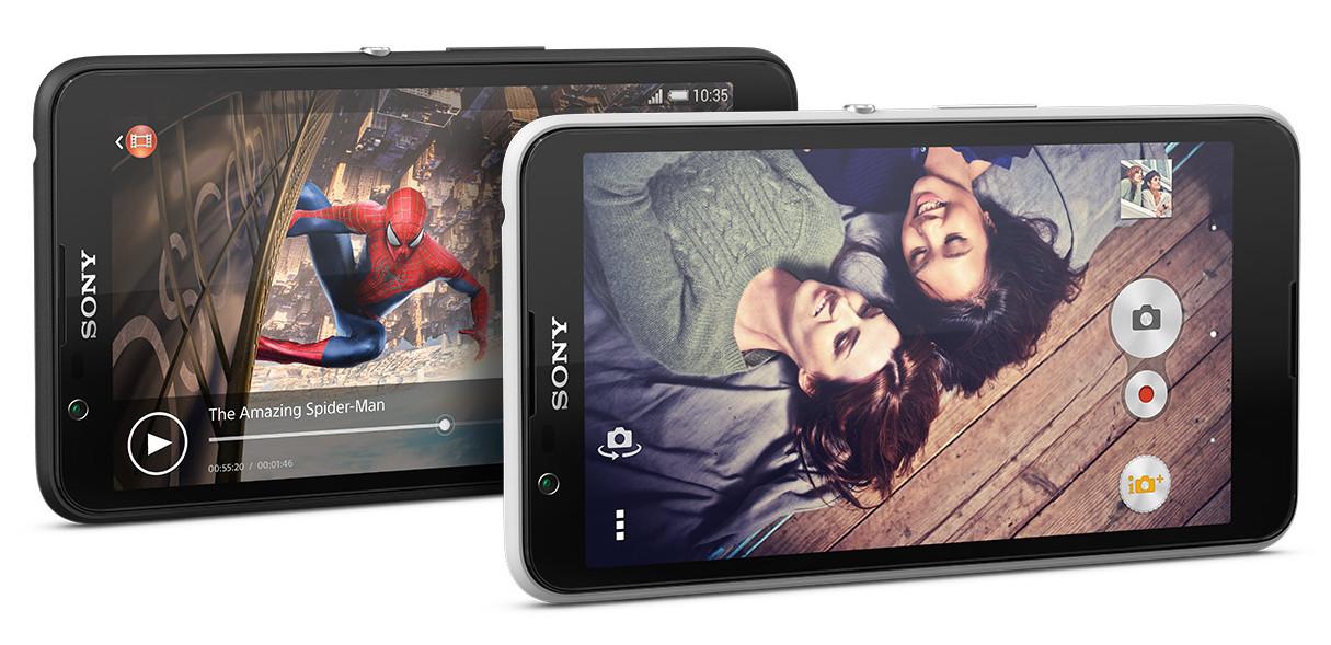Sony анонсировала выход Xperia E4 и E4 Dual