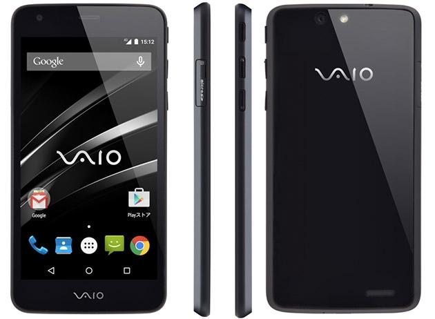 Представлен первый смартфон VAIO