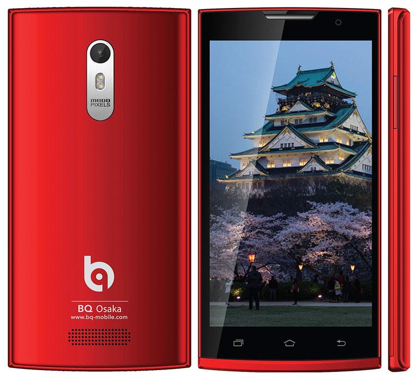 BQ Osaka - недорогой смартфон в ярком корпусе