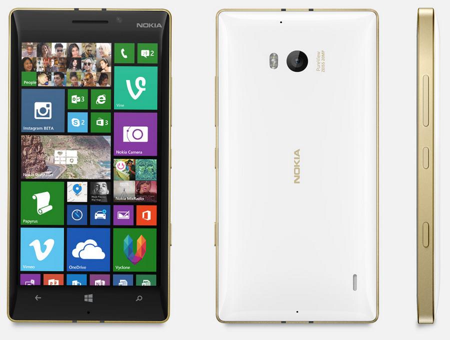Lumia 930 Gold (white)