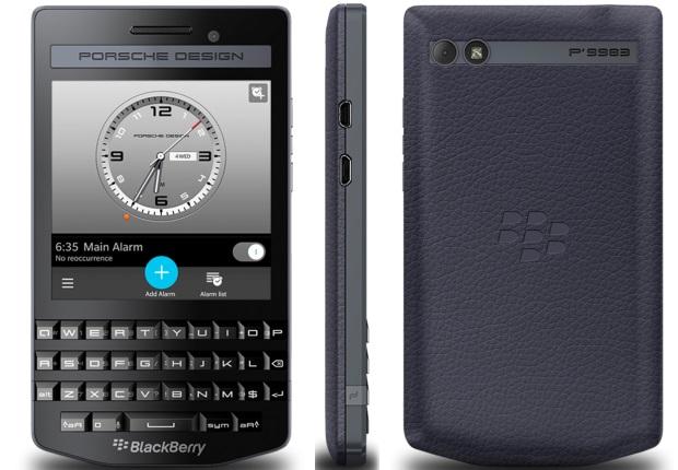 BlackBerry представила обновленный P'9983 Porsche Design Graphite