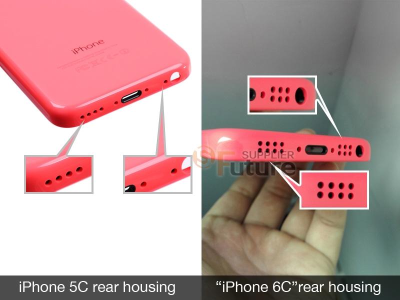 Первые фото iPhone 6c