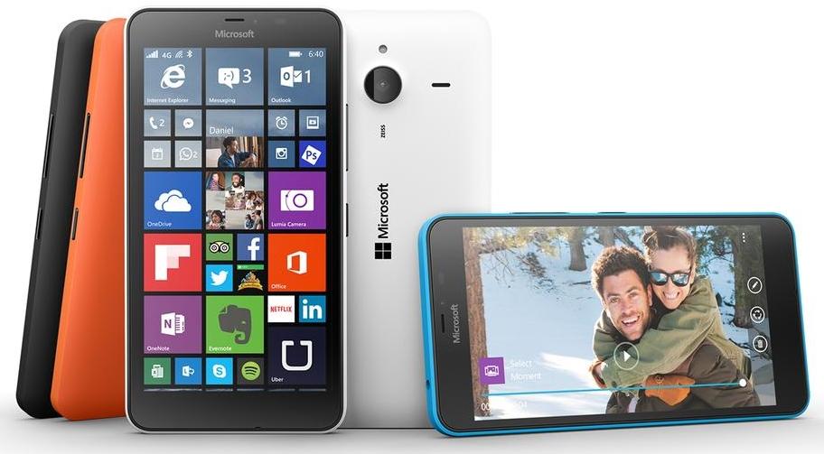 В России начались предзаказы на Lumia 640 и Lumia 640 XL