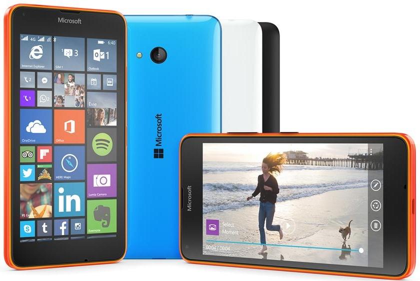 MWC 2015: Microsoft представила Lumia 640 и Lumia 640 XL