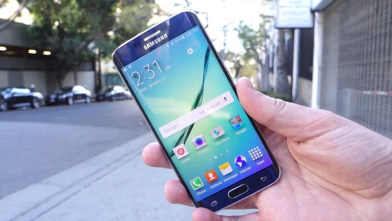 Настоящий дроп-тест Samsung Galaxy S6 Edge