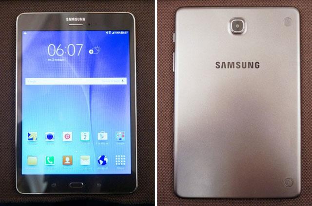 Samsung представила планшеты Galaxy Tab A