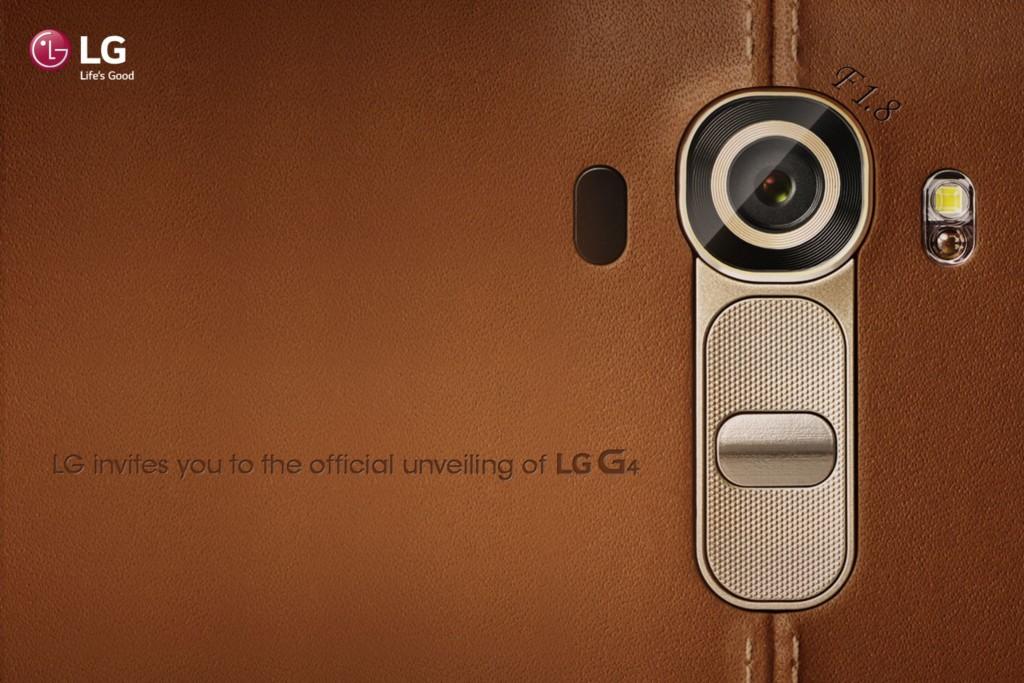LG разослала приглашения на презентацию смартфона G4