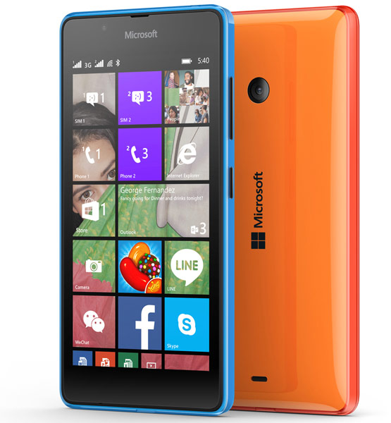 Microsoft представила смартфон Lumia 540 Dual SIM за $149