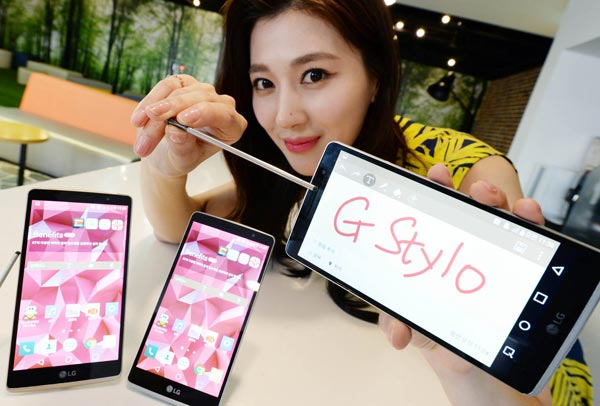 LG G Stylo - смартфон со стилусом и поддержкой карт до 2 ТБ