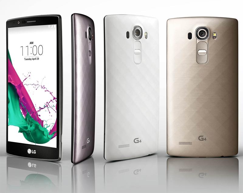 LG G4 представлен официально