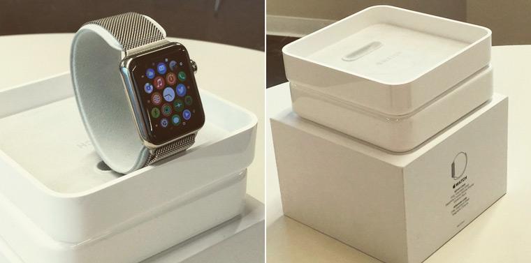 В сети появилась упаковка Apple Watch