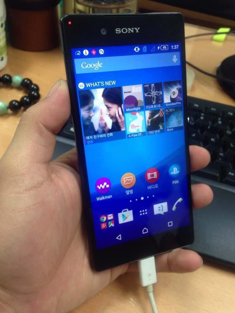 Характеристики и фото Sony Xperia Z4