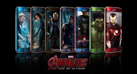 """Samsung выпустит Galaxy S6 и Galaxy S6 Edge в стиле """"Железного человека"""""""
