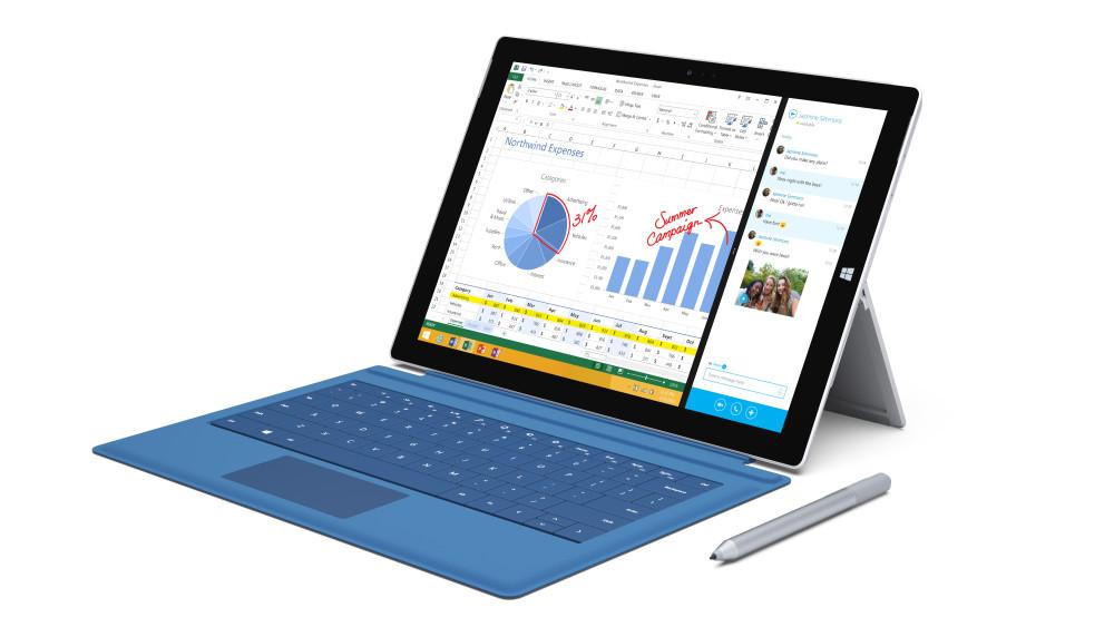 Microsoft Surface 3 поступил в продажу