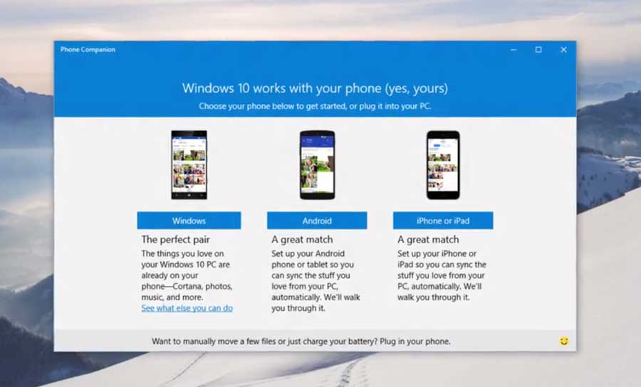 windows-companion-app-ios-android