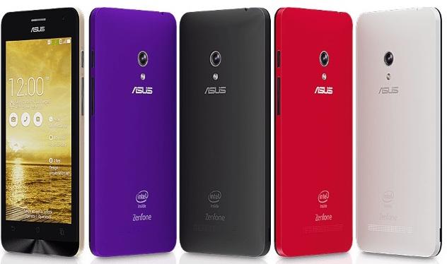 Смартфоны Asus ZenFone 4, 5 и 6 начали получать обновление до Android 5