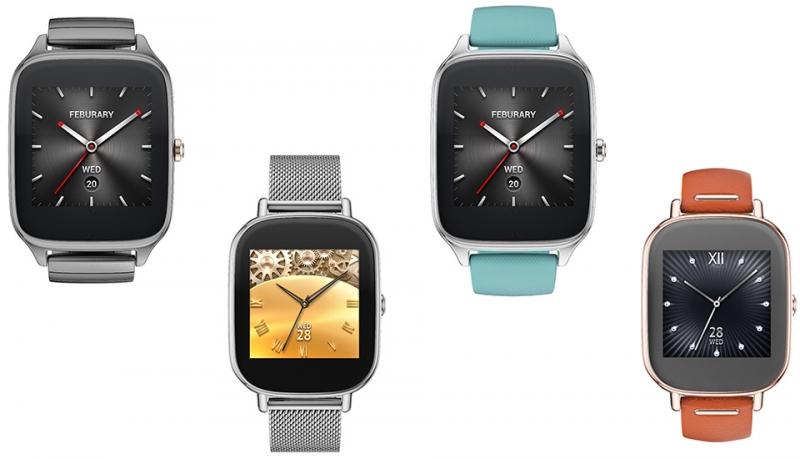 Asus представила новые смарт-часы ZenWatch 2