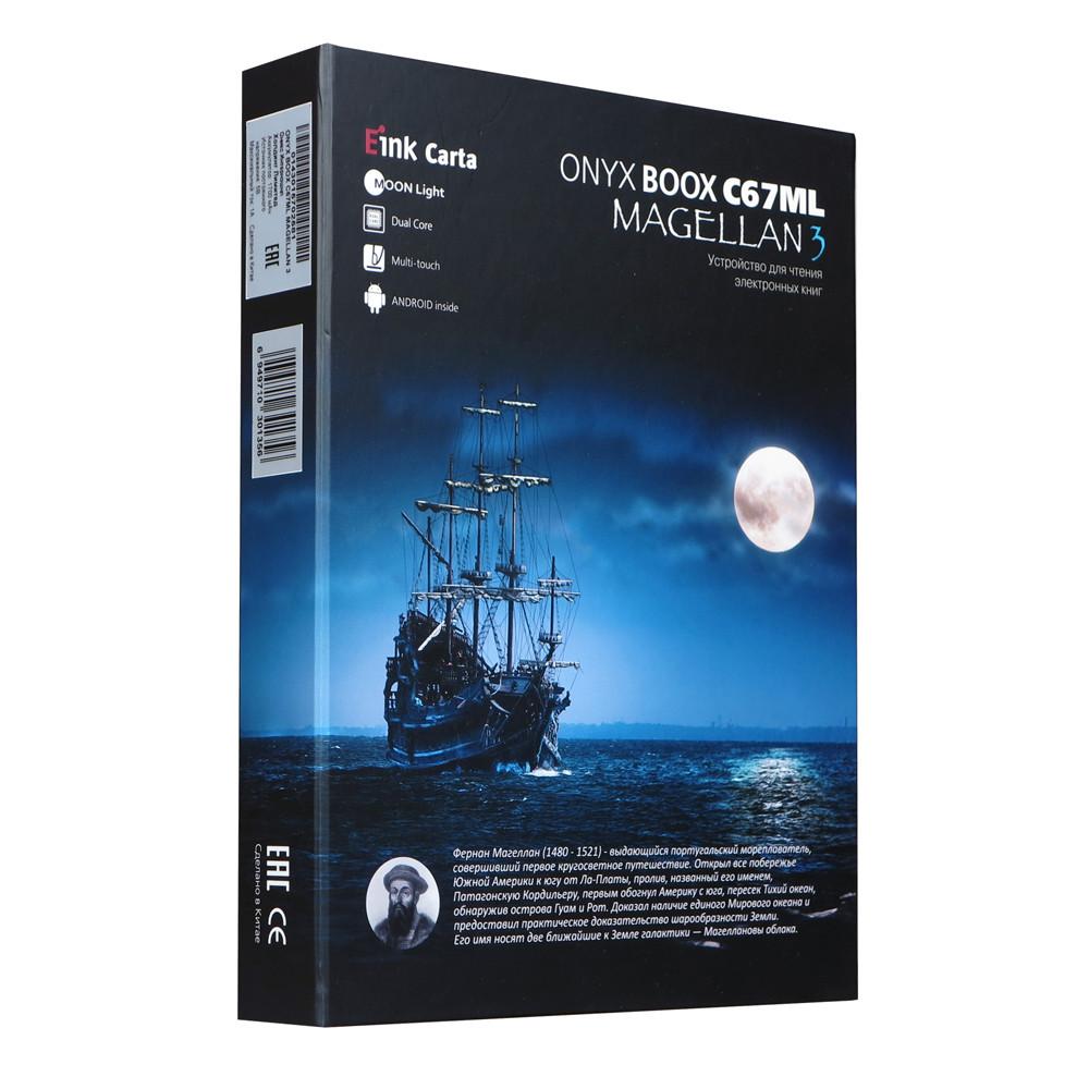ONYX BOOX C67ML Magellan 3 – недорогой букридер с экраном E Ink Carta