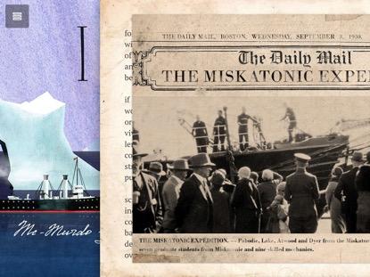 Российские разработчики собирают средства на мобильную версию романа Говарда Лавкрафта «Хребты безумия»