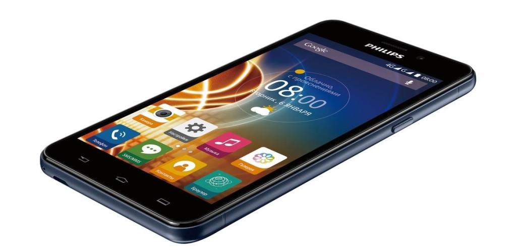 Смартфон Philips Xenium V526: мощный заряд мобильного интернета