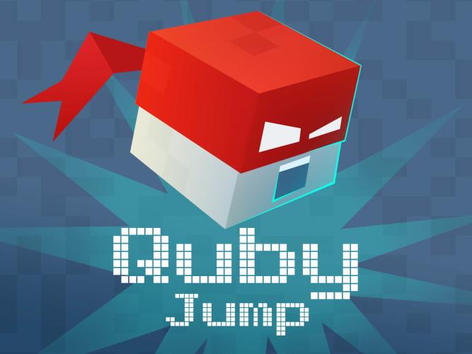 Quby Jump - реально хардкорная аркада