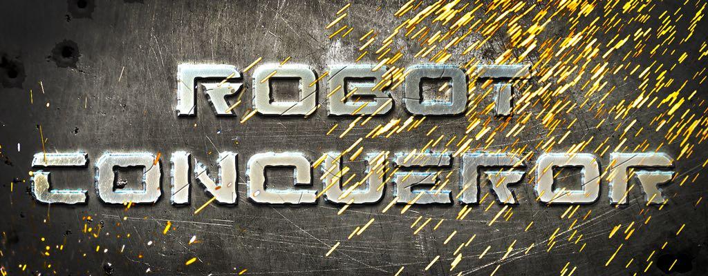 Robot Conqueror – медетативный скролл-шутер с жествым управлением