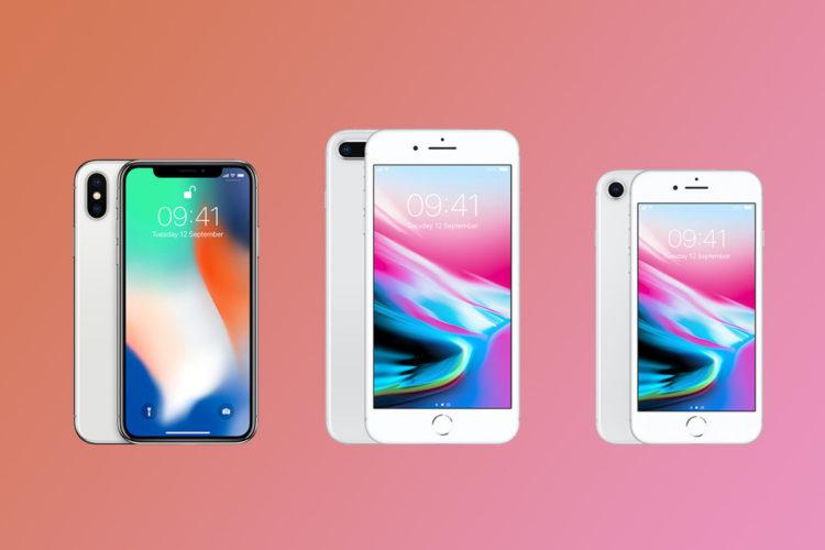 Apple представила смартфоны iPhone 8 и iPhone X