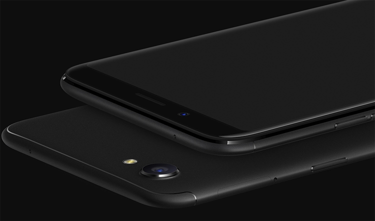 Oppo F5 - безрамочный смартфон за $300