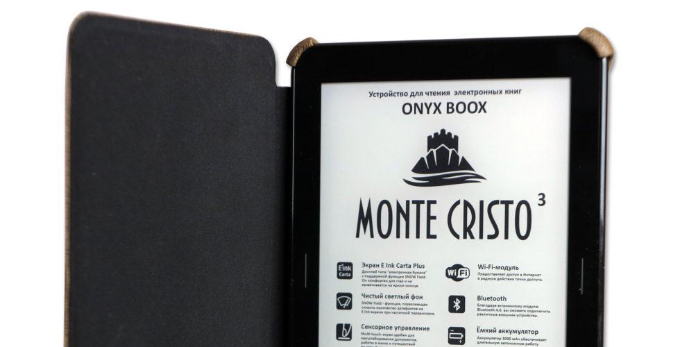 ONYX BOOX Monte Cristo 3 - обновленная версия лучшего букридера этого года