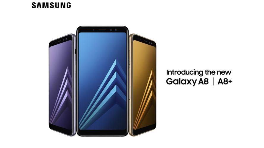Samsung официально представила смартфоны Galaxy A8 и A8+