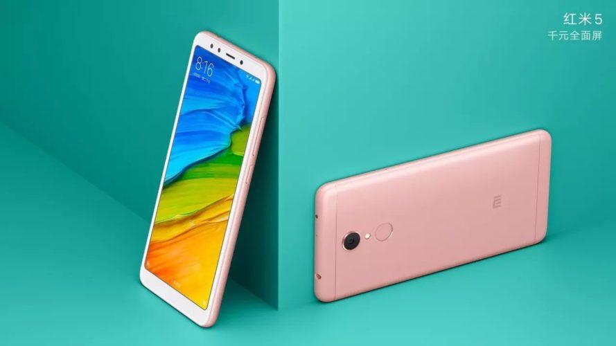 Характеристики и фото Xiaomi Redmi 5 и Redmi 5 Plus утекли в сеть до презентации
