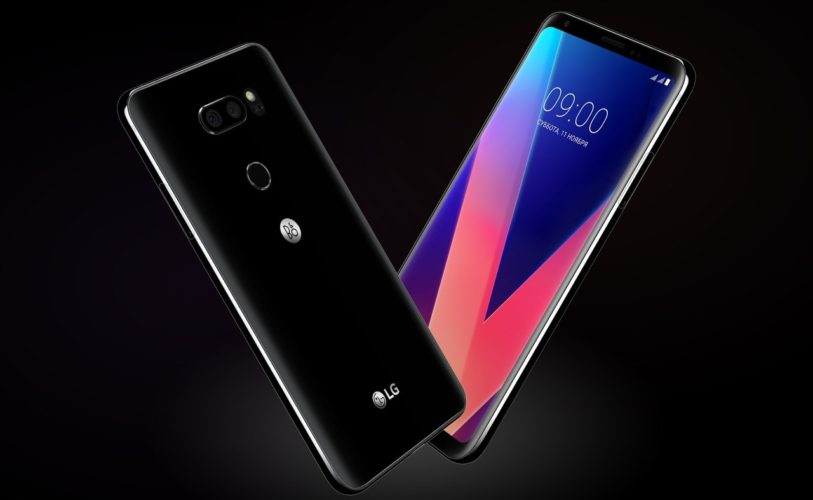 В России начались продажи флагмана LG V30+