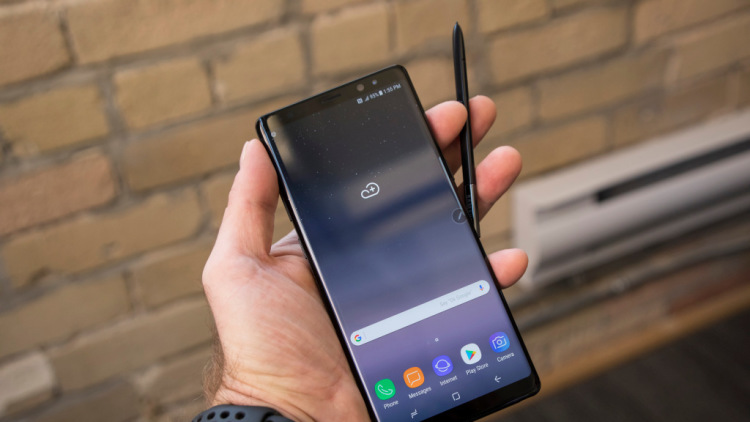 Samsung увеличит емкость аккумулятора в Galaxy Note 9