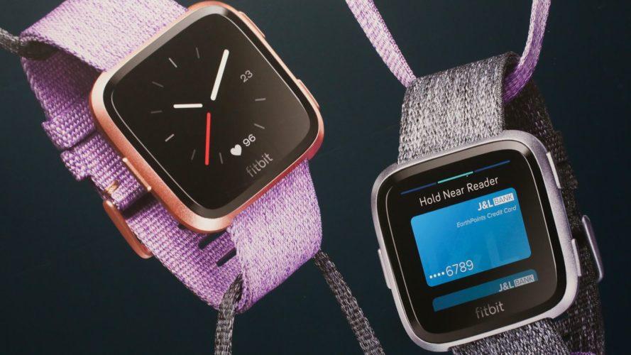 Официально представлены умные часы Fitbit Versa