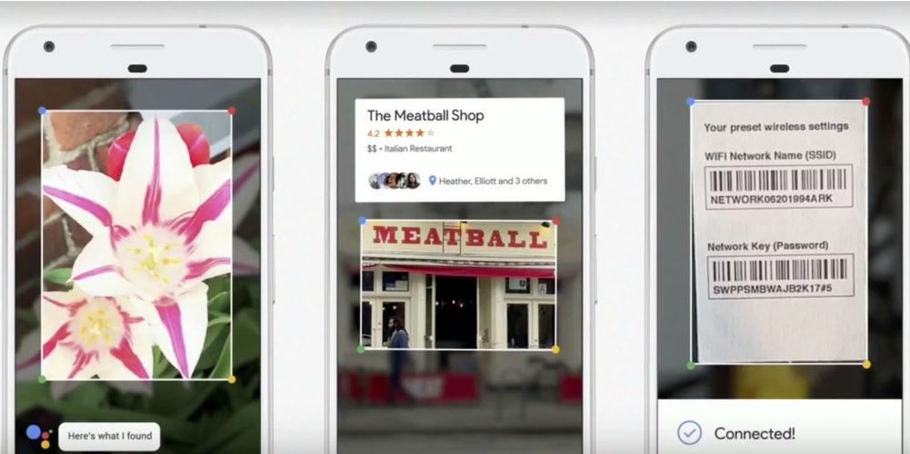 Google Lens будет работать на iPhone и iPad