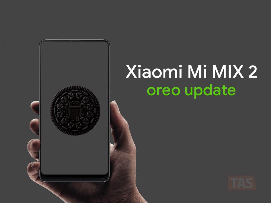 Android Oreo для Xiaomi Mi Mix 2