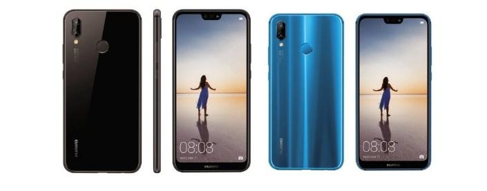 Различия в дизайне Huawei P20 Lite, P20 и P20 Pro