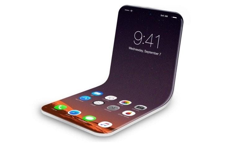 В 2020 году Apple может представить раскладной iPhone