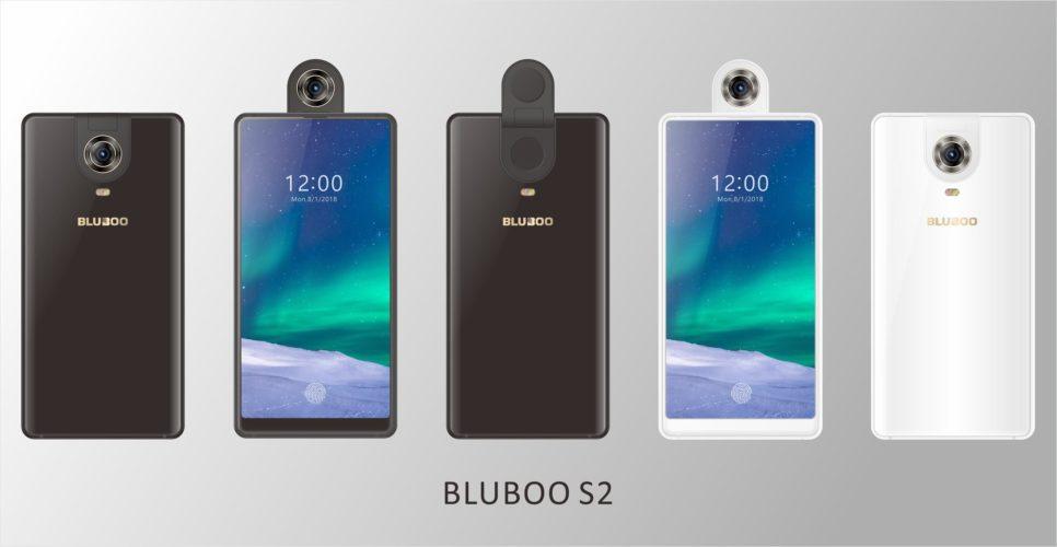 Представлен смартфон BLUBOO S2 с уникальной вращающейся камерой