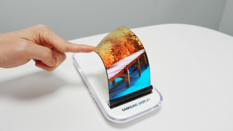 Смартфоны Samsung получат расширяемые дисплеи