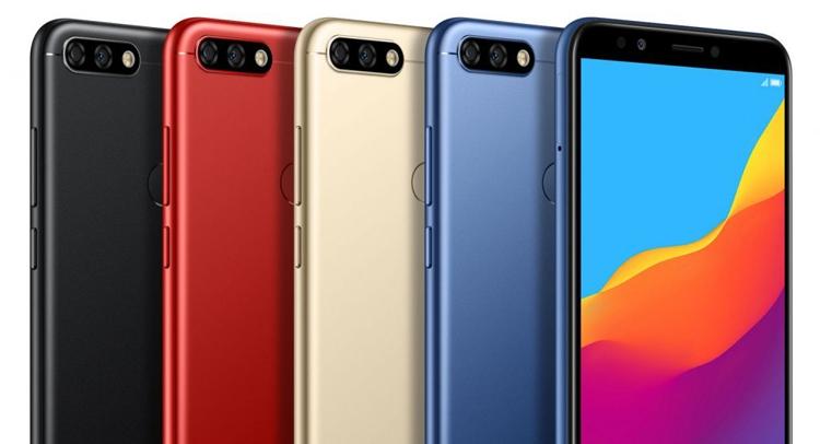 Huawei Honor 7C: бюджетный смартфон с экраном 18:9 и двойной камерой