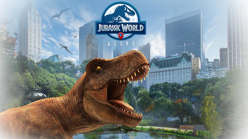Игра Jurassic World Alive с поддержкой дополненной реальности вышла в Google Play