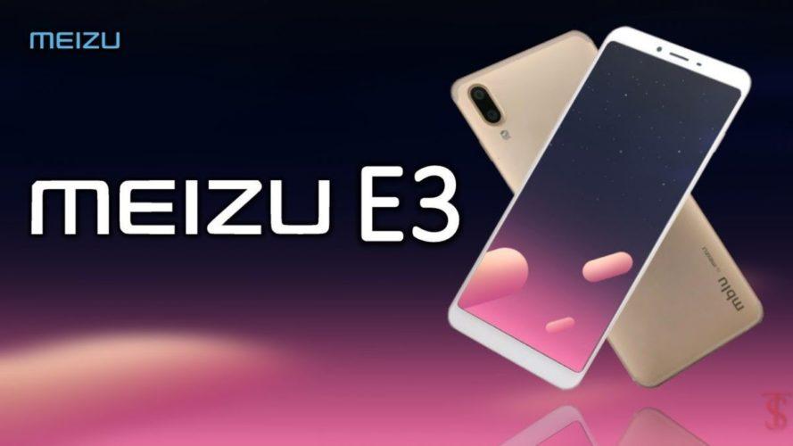 Meizu E3: свежая информация о характеристиках и фото