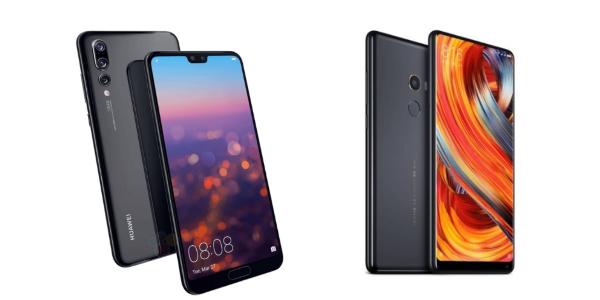 Все утечки про Huawei P20/P20 Pro и Xiaomi Mi Mix 2S накануне презентаций
