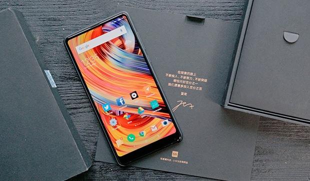 Xiaomi представила Face Unlock в Mi Mix 2S