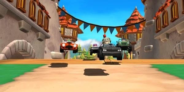 Rev Heads Rally - аналог Mario Kart с реалистичной физикой и разрушениями